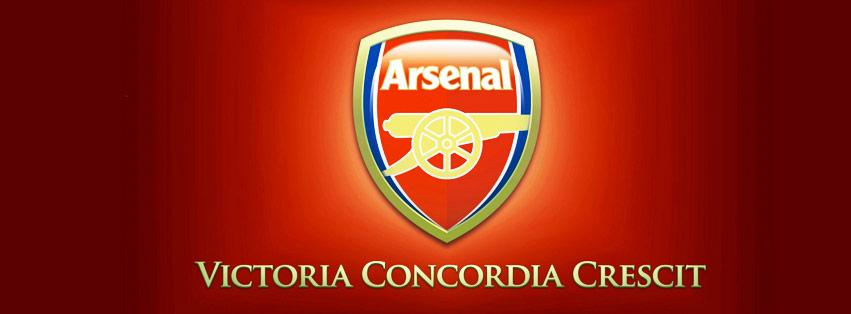 cover facebook câu lạc bộ bóng đá Arsenal pháo thủ thành London