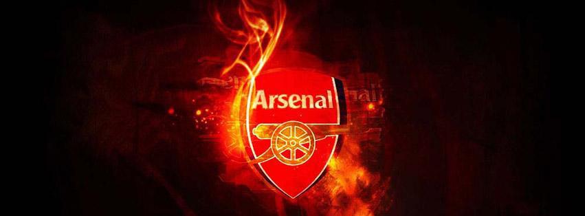 cover facebook câu lạc bộ bóng đá Arsenal pháo thủ thành London số 6