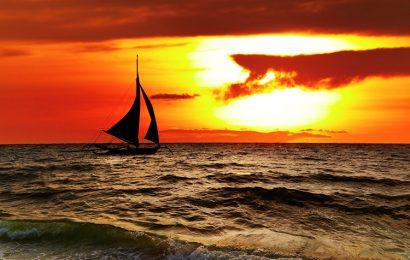 Top 30 hình nền thuyền buồm trên biển với phong cảnh bình mình và hoàng hôn