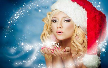Tuyển tập top 50 hình ảnh và hình nền hot girl chúc mừng giáng sinh đẹp