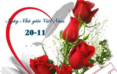 Những bức thiệp hoa hồng ý nghĩa tặng thầy cô giáo nhân ngày 20-11