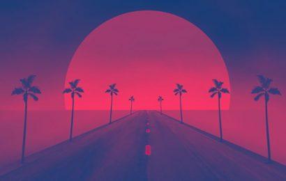 Top 30 ảnh bìa facebook nghệ thuật retro wave đẹp