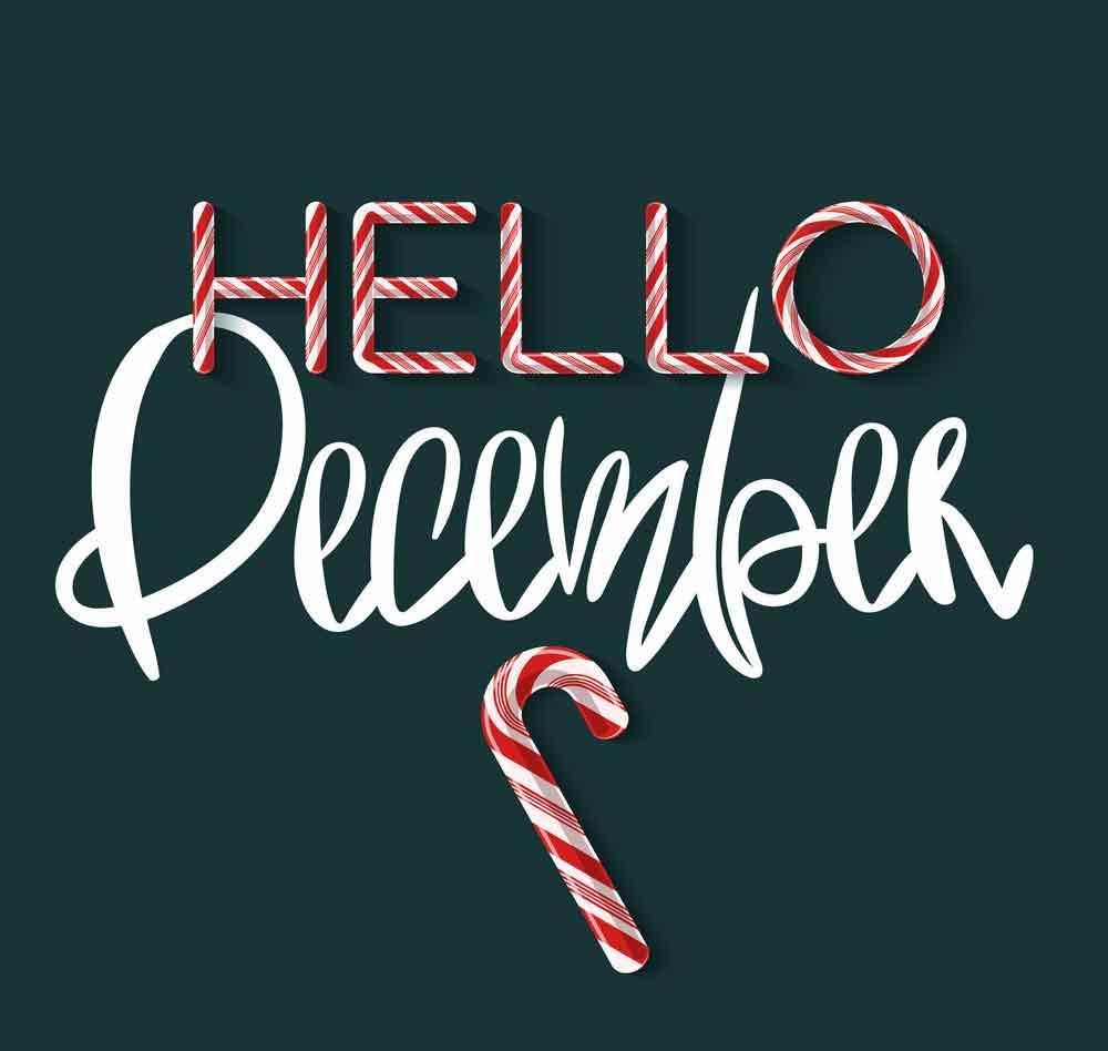 bộ hình nền chào tháng 12 - Hello December độc đáo số 16