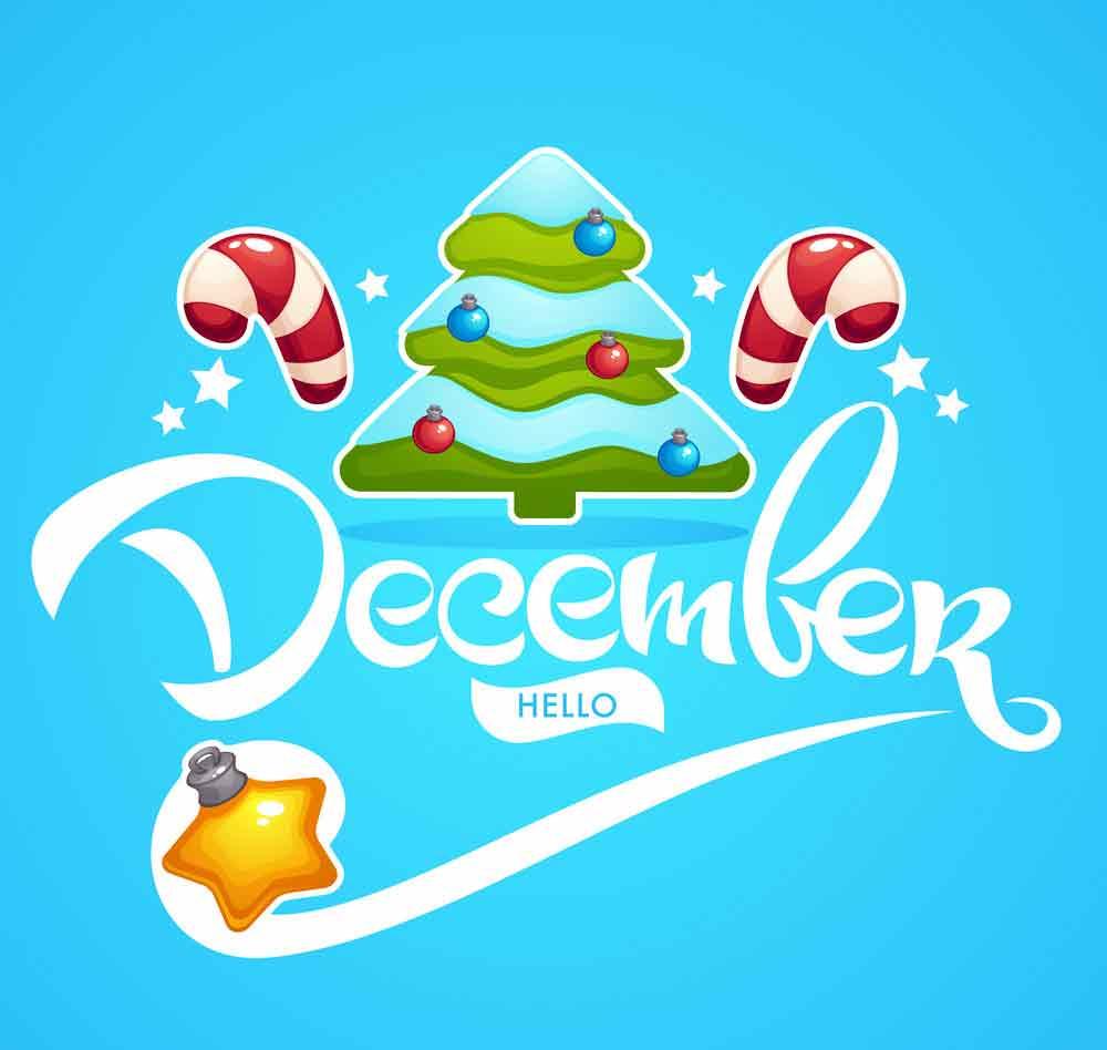 bộ hình nền chào tháng 12 - Hello December độc đáo số 15