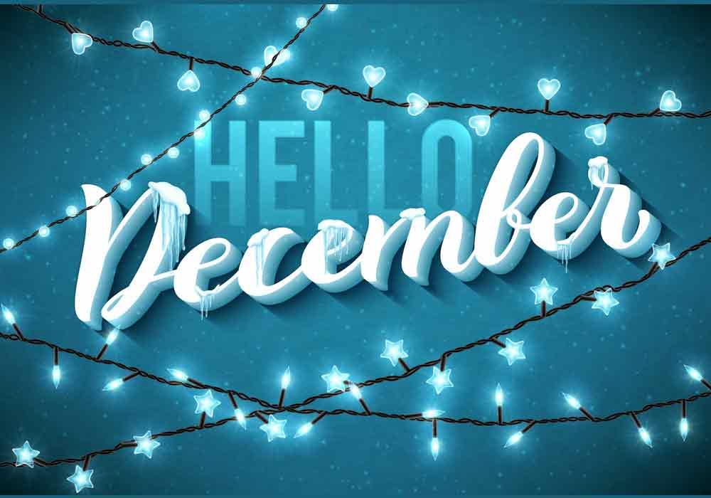 bộ hình nền chào tháng 12 - Hello December độc đáo số 11