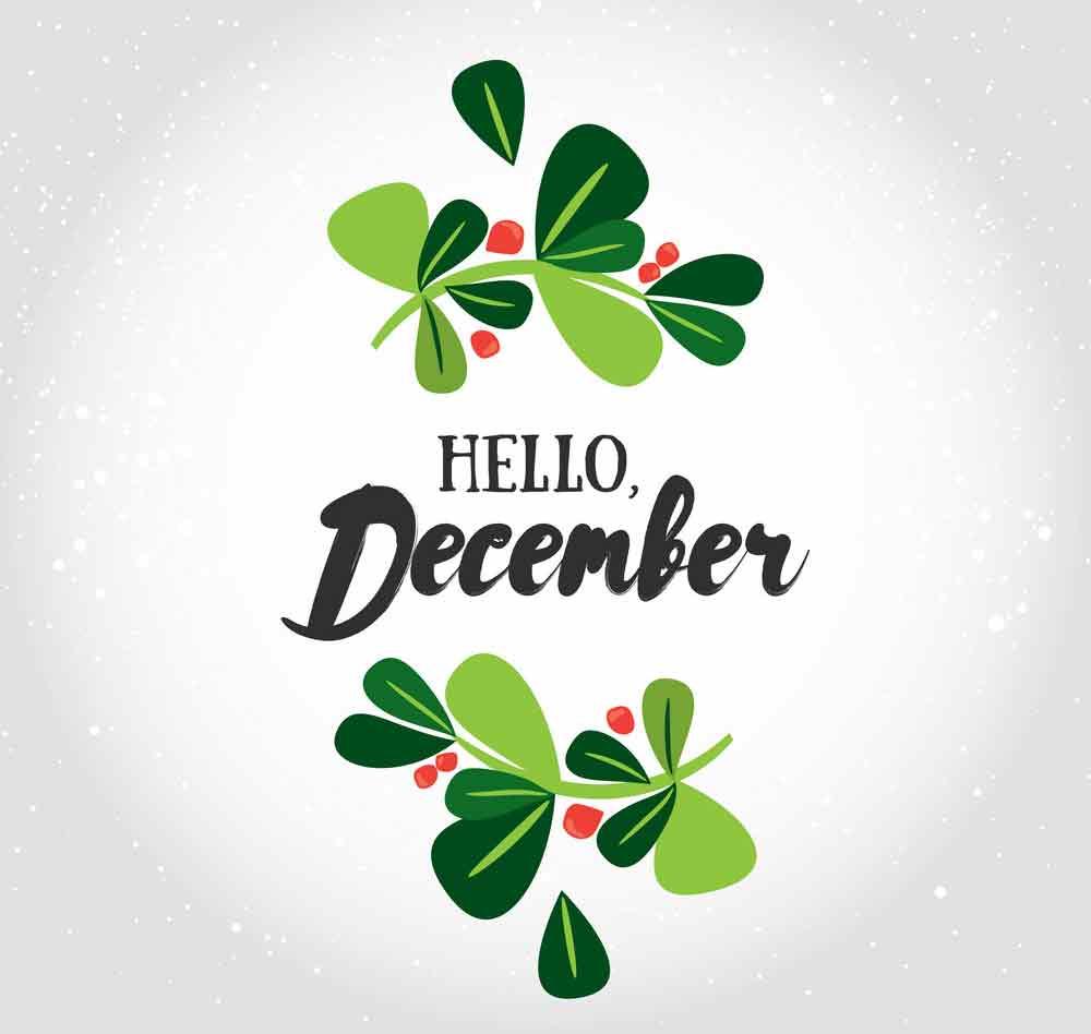 bộ hình nền chào tháng 12 - Hello December độc đáo số 9