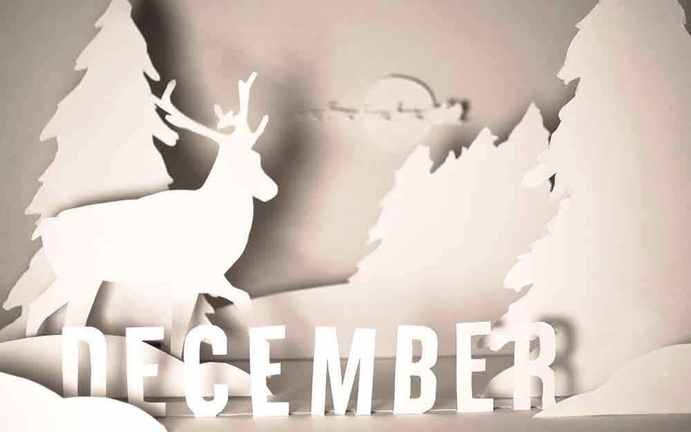 bộ hình nền chào tháng 12 - Hello December độc đáo số 6