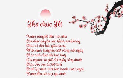 Top 100 bài thơ chúc mừng năm mới – tết – Happy New Year hài hước hay
