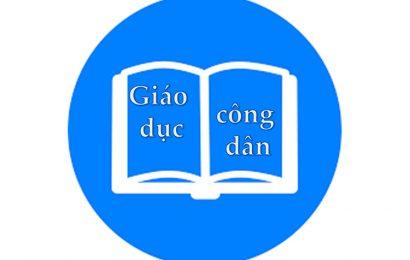 Đề tham khảo kỳ thi tốt nghiệp THPT mới nhất môn GDCD của Bộ GDĐT