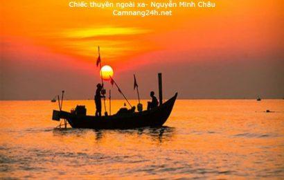 """Đề thi thử bài """"Chiếc thuyền ngoài xa"""" Nguyễn Minh Châu hướng mới"""