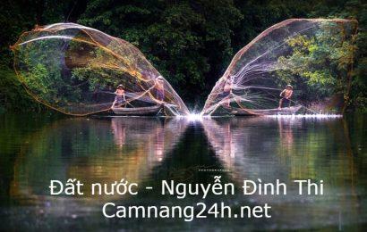 Dàn ý và văn mẫu bình giảng bài thơ Đất nước của Nguyễn Đình Thi
