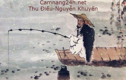 """Top 3 bài Cảm nhận về bài thơ """"Thu điếu"""" của Nguyễn Khuyến hay nhất"""