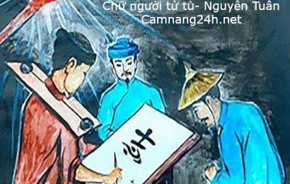 Soạn bài Chữ người tử tù của Nguyễn Tuân đầy đủ chi tiết