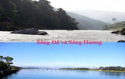 So sánh chi tiết sông Đà và sông Hương trong chương trình ngữ văn 12
