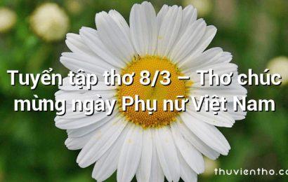 Thơ hay 8/3 Cho Trẻ Mầm Non đáng yêu và Dễ Thuộc