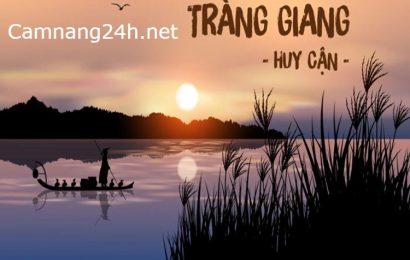 Phân tích Vẻ đẹp vừa cổ điển vừa hiện đại của Tràng Giang