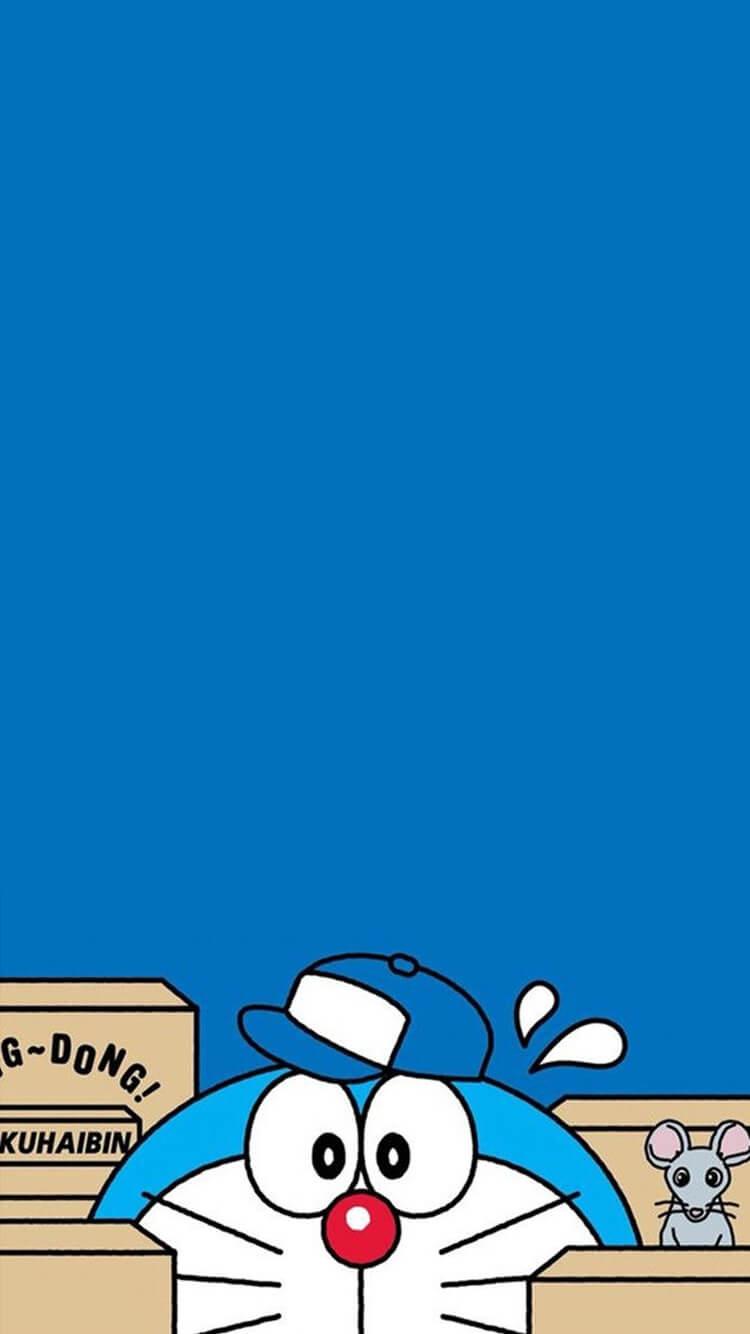 Tuyển tập 50 hình nền Doremon cho điện thoại đẹp nhất 13