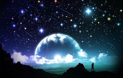 Share hình nền bầu trời đêm buồn cho điện thoại Vivo Y20