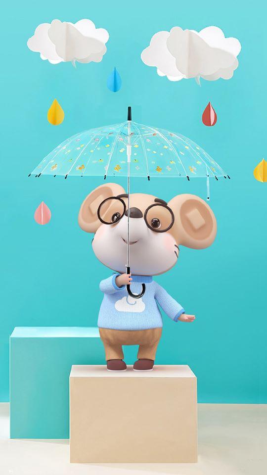 hình ảnh con chuột chibi cho điện thoại dễ thương số 22