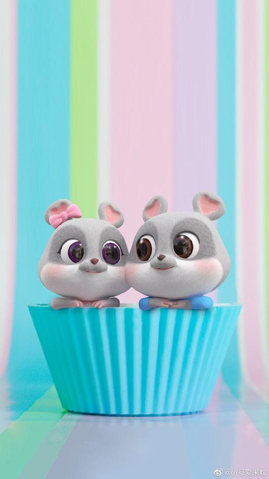 hình ảnh con chuột chibi cho điện thoại dễ thương số 26