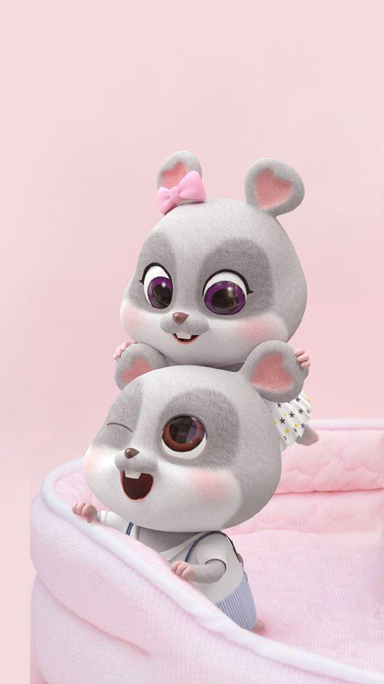 hình ảnh con chuột chibi cho điện thoại dễ thương số 7