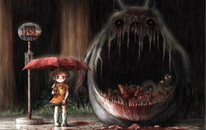 Top 50 hình nền phim hoạt hình Hàng xóm của tôi là Totoro dễ thương