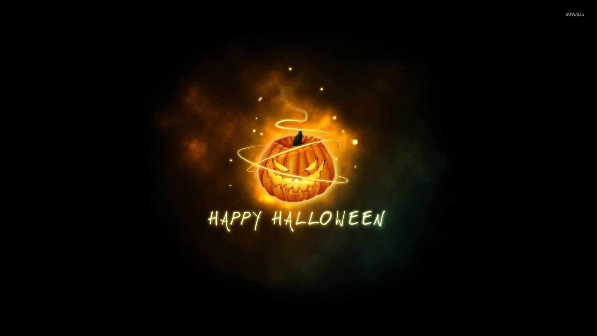 hình nền chữ happy halloween đẹp -13