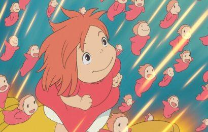 Tuyển tập 50 hình nền phim hoạt hình Ponyo – Cô bé người cá cho máy tính