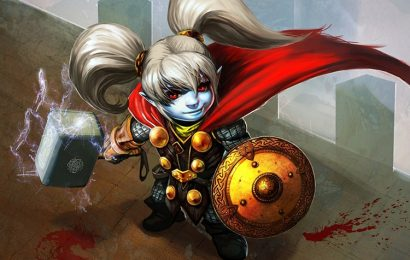 Top 50 hình nền tướng Poppy – Người Giữ Búa trong game LMHT