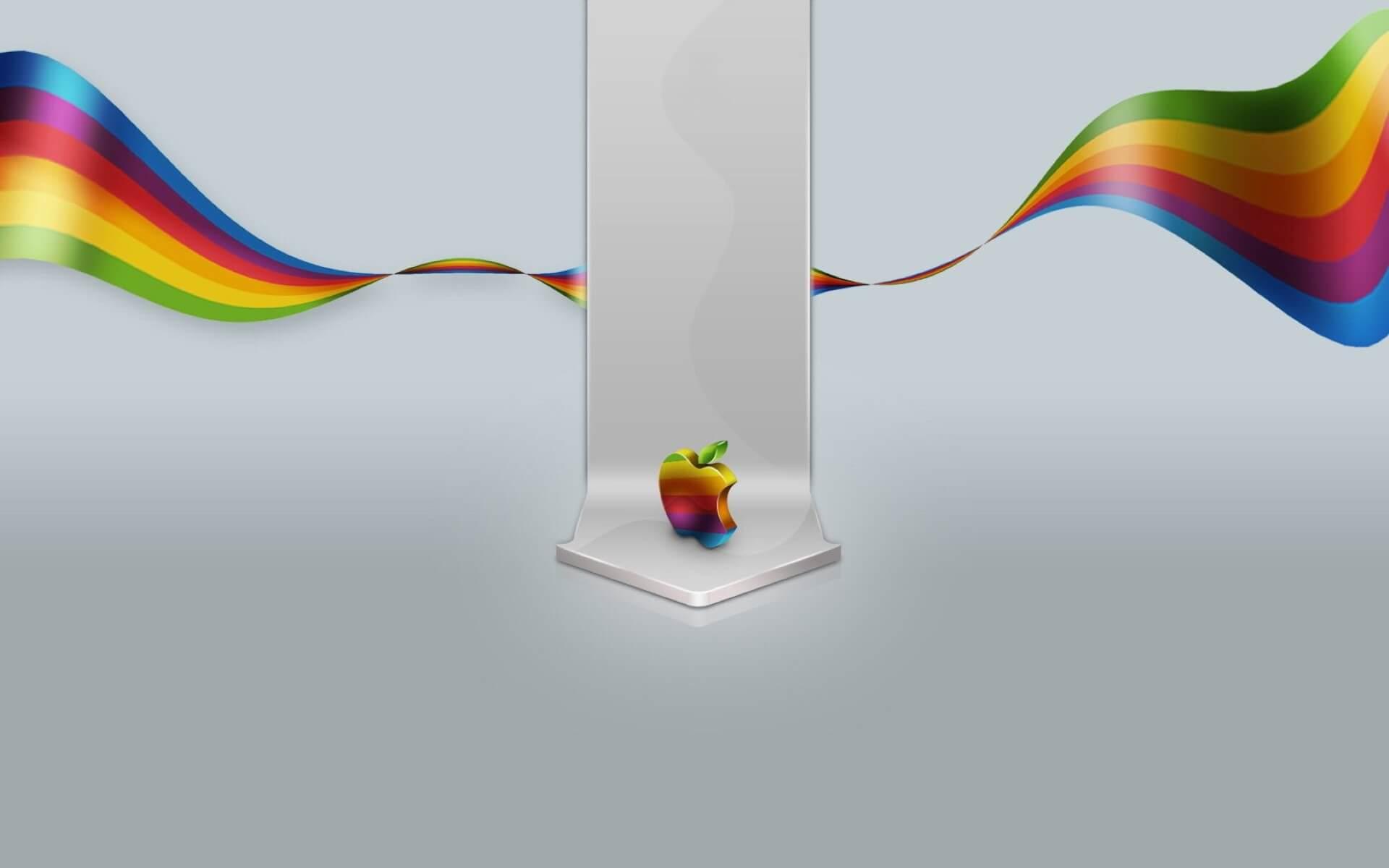 50 hình nền logo và biểu tượng quả táo cắn dở của Apple số 18
