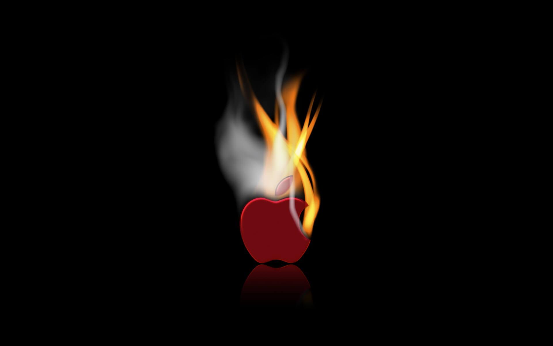 50 hình nền logo và biểu tượng quả táo cắn dở của Apple số 23