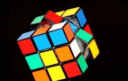 Tuyển tập hình nền trò chơi Rubik ru bích đầy màu sắc cho máy tính