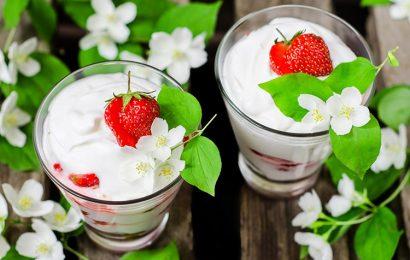 Top 30 hình nền cốc sữa chua hoa quả đẹp mắt cho máy tính