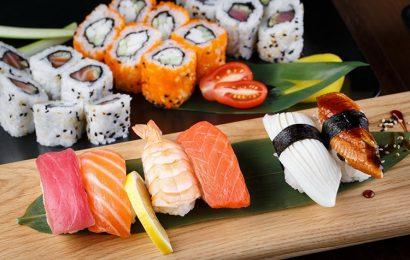 Top 30 hình nền những miếng sushi hấp dẫn cho máy tính