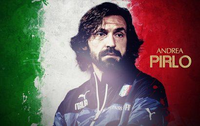 Top 30 hình nền chàng cầu thủ người Ý Andrea Pirlo cho máy tính