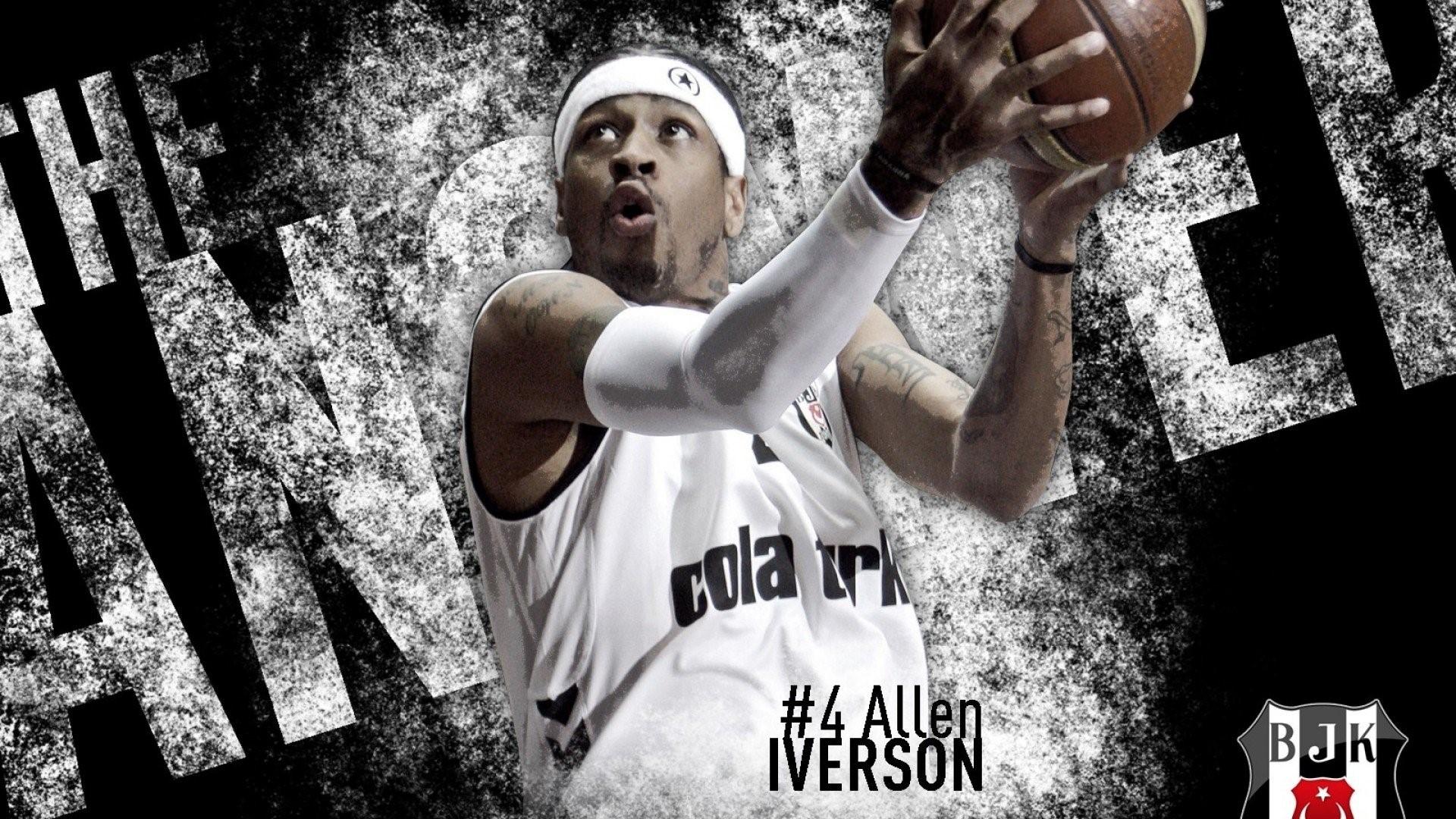 Hình nền cầu thủ bóng rổ Allen Iverson cho máy tính số 10