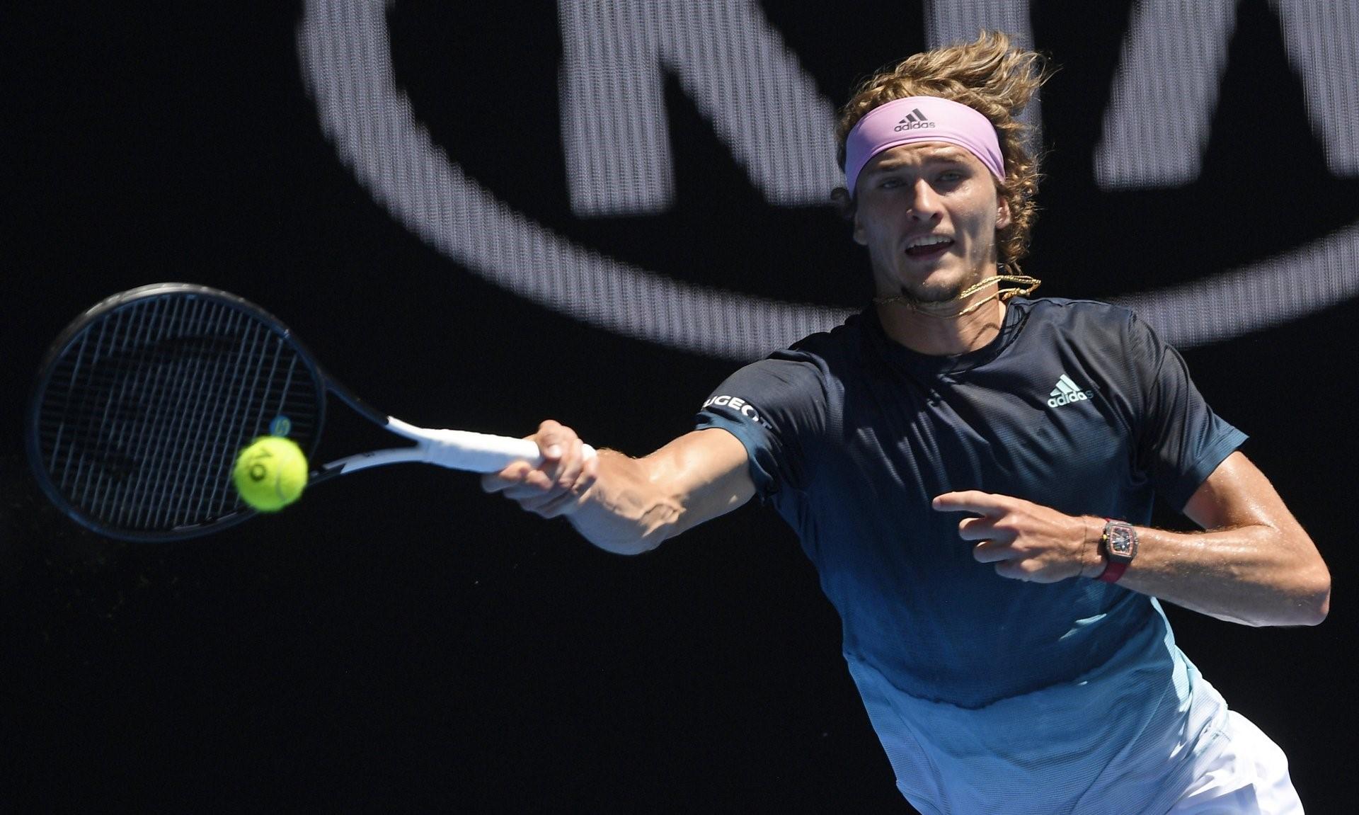 Hình nền tay vợt Alexander Zverev cho máy tính số 19